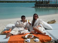 """The best Resort in the Caribbean now serves; """"Breakfast in Bed, On the Beach! Turks And Caicos Resorts, Nikki Beach, Best Resorts, Breakfast In Bed, New Orleans, Caribbean, Lifestyle, Romanticism"""