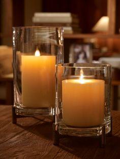 Sloane Nickel Hurricane - Ralph Lauren Home Vases & Candle Holders - RalphLauren.com