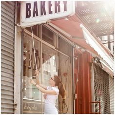 Babycakes, NYC..: vegan bakery, I have their cook book with beautiful photography and style.