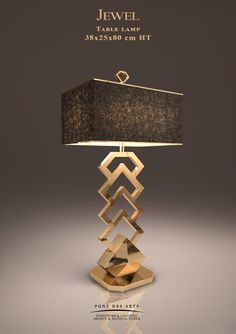 Jewel Table Lamp - Designer MONZER Hammoud - Pont des Arts Studio - Paris