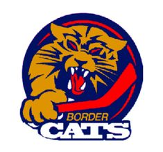 Port Huron Border Cats Primary Logo on Chris Creamer's Sports Logos Page - SportsLogos. A virtual museum of sports logos, uniforms and historical items. Hockey Logos, Sports Logos, Crossfit Logo, Port Huron, Cat Whisperer, F2 Savannah Cat, Team Mascots, Great Logos, Cat Logo