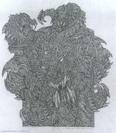 Disciples II - Мраморная горгулья (стрелок Легионов Проклятых) by Patrick Lambert