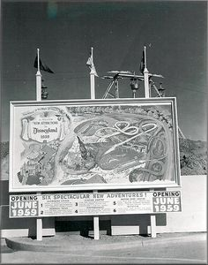Disneyland construction sign