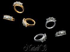 NataliS_Three stone princess cut ring