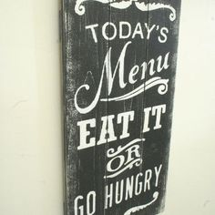 kitchen pallet wood signs - Google Search