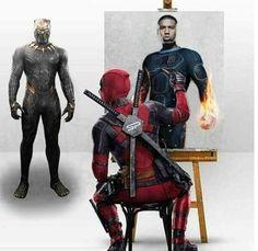 Marvel Fan, Marvel Dc Comics, Anime Comics, Marvel Memes, Deadpool Art, Deadpool Stuff, Comic Movies, Dc Comic Books, Comic Book Heroes