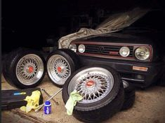 Volkswagen Golf, Old School, Lotus, Monster Trucks, Cars, Vehicles, Style, Cars Motorcycles, Container Gardening