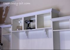 ikea billy bookcases for built in