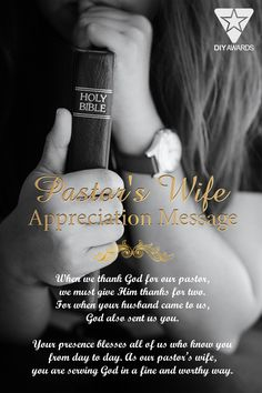Looking for unique gift ideas to show your gratitude to the church's first lady? A personalized thank you message and elegant design shall be the key. The delicate scroll work and perfectly chosen words of appreciation make the Thank You Plaque for Pastor's Wife something that stands out from the pack. If you are looking to honor the first lady for years of ministry work upon the church or pastor's anniversary, this piece will truly make any first lady appreciation tribute. Gifts For Pastors, Pastors Wife, Thank You Pastor, Thank God, Thank You Messages, Thank You Gifts, Thank You Plaques, Pastor Anniversary, Words Of Appreciation