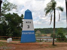 Hito de las 3 Fronteras, Puerto Iguazú