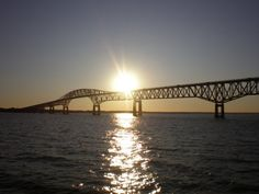 Rappahannock River - The Robert O. Norris Bridge.  http://en.wikipedia.org/wiki/Robert_O._Norris_Bridge