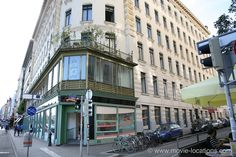 Film locations for The Night Porter in Vienna and Rome. The Night Porter, Otto Wagner, Vienna Austria, Filming Locations, 1930s, Facade, Rome, Restoration, Street View