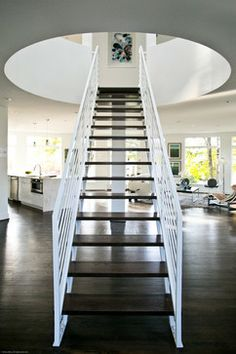 Staircases - contemporary - staircase - baltimore - Elemental Metalworks