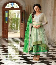 Style  : Wedding Salwar Suit Fabric  : Net - Chiffon Occassion: Party wear, traditional wear,wedding wear