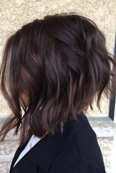 23 Best Bob Haircuts for Thick Hair 2018 – 2019 - iHairstyles Website Inverted Bob Hairstyles, Short Hairstyles For Thick Hair, Haircut For Thick Hair, Short Bob Haircuts, Short Curly Hair, Short Hair Cuts, Curly Bob, Bobs For Thick Hair, Reverse Bob Haircut