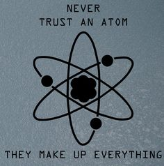 Science quote decal Atom wall decal Science by NipomoImprints, $12.00