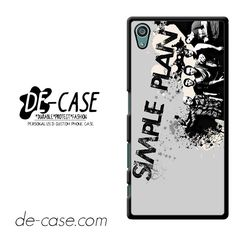 Simple Plan Crews Art DEAL-9614 Sony Phonecase Cover For Xperia Z5