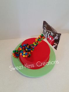 M&M Cake 3d Sweet-Ness Creations