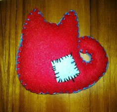 Back of Squishy Zombie Kitty