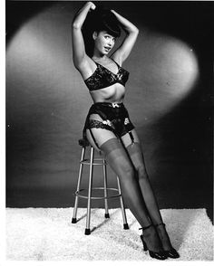 And signed by pin-up photographer Bunny Yeager in the 1980s. Bunny Yeager signature and stamp are bold. BETTIE PAGE. BETTIE IN LINGERIE. during the first wave of the rediscovery of Bettie Page. to re-introduce Bettie to the public. | eBay!
