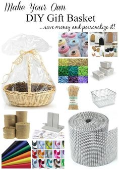 Make a gift basket! Its fun and will really impress the person you are giving it to! With these easy tips you can save money and personalize it for any celebration or holiday! - Diy For Teens Homemade Gift Baskets, Wine Gift Baskets, Homemade Gifts, Diy Gifts, Homemade Beauty, Best Gifts For Her, Gifts For Family, Making A Gift Basket, Diy Gift Basket Wrap
