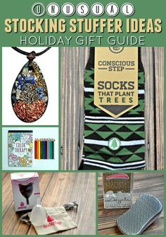 Are you looking for fun and unusual stocking stuffer ideas this holiday season? Check out our stocking stuffer gift guide. You'll find lots of great ideas!