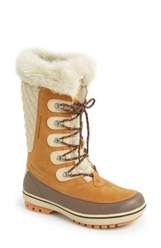 Free shipping and returns on Helly Hansen 'Garibaldi' Waterproof Snow Boot (Women) at Nordstrom.com. Fearlessly take on winter weather conditions in a rugged waterproof boot lined with cozy faux fur and grounded with a durable, traction-enhancing Helly Grip™ rubber sole.