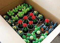 Crochet Jardim's Crocheted Succulents