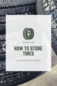 Tires are expensive to replace and repair, so effective tire storage is important. This guide will show you how to store tires to keep them from dry rotting or deteriorating. Self Storage, Storage Hacks, Bag Storage, Reuse Old Tires, Reuse Recycle, Recycling, Climate Controlled Storage Units, Tire Swings, Winter Tyres