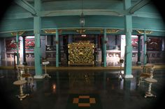 Structure in the building Keraton Kasepuhan