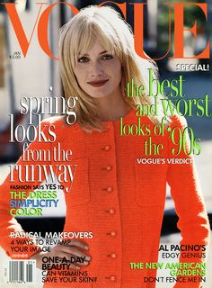 >>> US Vogue January 1996 : Amber Valletta by Steven Meisel, Fashion Editor: Grace Coddington