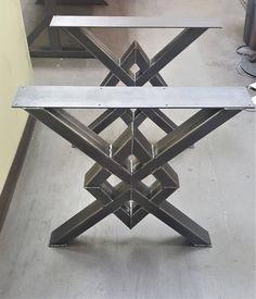 Patas únicas de mesa de comedor de doble diamante modelo | Etsy