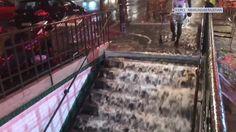 Stations fermées, routes inondées... les images des orages à Paris