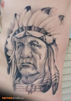Tattoo by Mitch Anderson in Painted Temple Tattoo in Salt Lake City, Utah Indian Chief Tattoo, Temple Tattoo, Body Modifications, Lake City, Wood Burning, Utah, Salt, Ink, Photo And Video