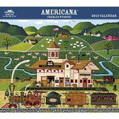 Charles Wysocki Americana Wall Calendar: Inspired by love of life, family, and home, the artwork of Charles Wysocki is treasured for its richness of detail and generosity of spirit.  $15.99  http://calendars.com/Charles-Wysocki/Charles-Wysocki-Americana-2013-Wall-Calendar/prod201300000601/?categoryId=cat200010=cat200010#