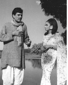 Sharmila Tagore, Rajesh Khanna, Guess The Movie, Vintage Bollywood, Bollywood Actors, In The Heart, Sweet Memories, Couple Goals, Retro Fashion
