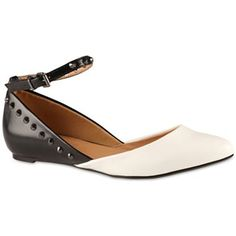 0b2435e74c25 Call It Spring™ Jouana Pointed Ballet Flats with Ankle Straps - jcpenney  White Ballet Flats