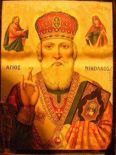 Greek Orthodox Icon by C Martin, via Flickr