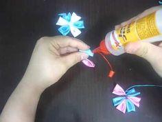 Manualidades y accesorios la hormiga. como hacer flores kanzashi, flores...