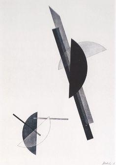 László Moholy-Nagy Construction Lithographie / Lithograph 29.3 x 25 cm 1923