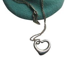 a6e9da14f Tiffany & Co. sale Tiffany & Co Elsa Peretti Open Heart sterling silver  necklace like. Tradesy