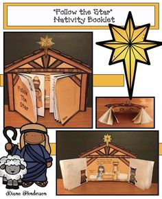 nativity crafts, story of Jesus' birth, Christmas crafts, Christmas activities, Christian crafts, Sunday school crafts, December activities for Sunday school, retelling a story activities, sequencing activities, Nativity craft, manger craft