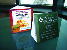 Get Brand Recognition with Customized 3 Sided Table Tents Table Tents, Tent Cards, Restaurant Tables, Bar Counter, Catering, Success, Business, Benefit, Prints