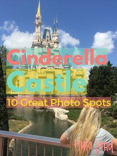 10 Spots for the Perfect Photo of Cinderella Castle at Magic Kingdom