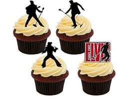 Elvis Presley Silhouettes, Edible Cupcake Toppers - Stand-up Wafer Cake Decorations (Pack of 12) Made4You http://www.amazon.co.uk/dp/B01CWH7HQ8/ref=cm_sw_r_pi_dp_kx9axb1KPNZNS