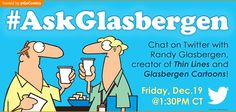 Live chat sponsored by GoComics, Friday December 19, 2014. Join us!