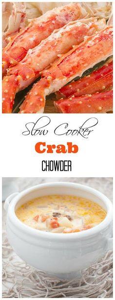 Crockpot Crab and Corn Chowder