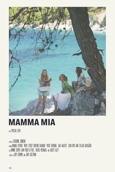 mamma mia by priya - 5016 Wallpaper Iconic Movie Posters, Minimal Movie Posters, Minimal Poster, Movie Poster Art, Iconic Movies, Poster Wall, Good Movies, Poster Prints, Film Polaroid