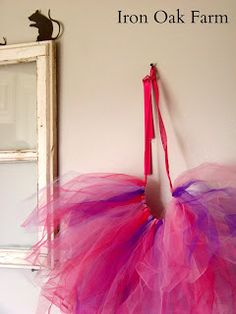 I remember as a child going to the Nutcracker Ballet at Christmas time. In the Spirit of that memory, learn how I make an easy tutu for a sweet little Sugar Plum Fairy!