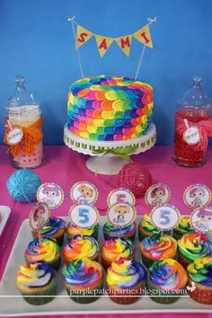 Lalaloopsy Party Birthday Party Ideas | Photo 8 of 32 | Catch My Party